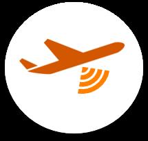 Plane Radar Circle