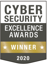 Cybersecurity Excellence Award Winner 2020
