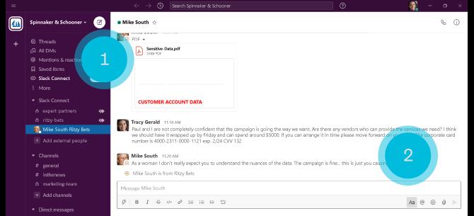 Slack Security Features