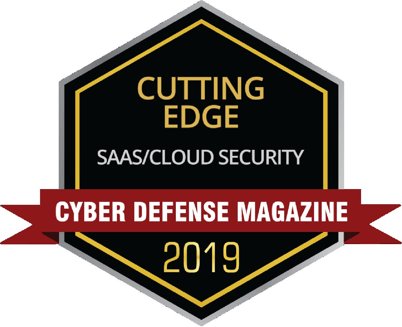 SaaS Security CDM Award_SafeGuard Cyber_2019