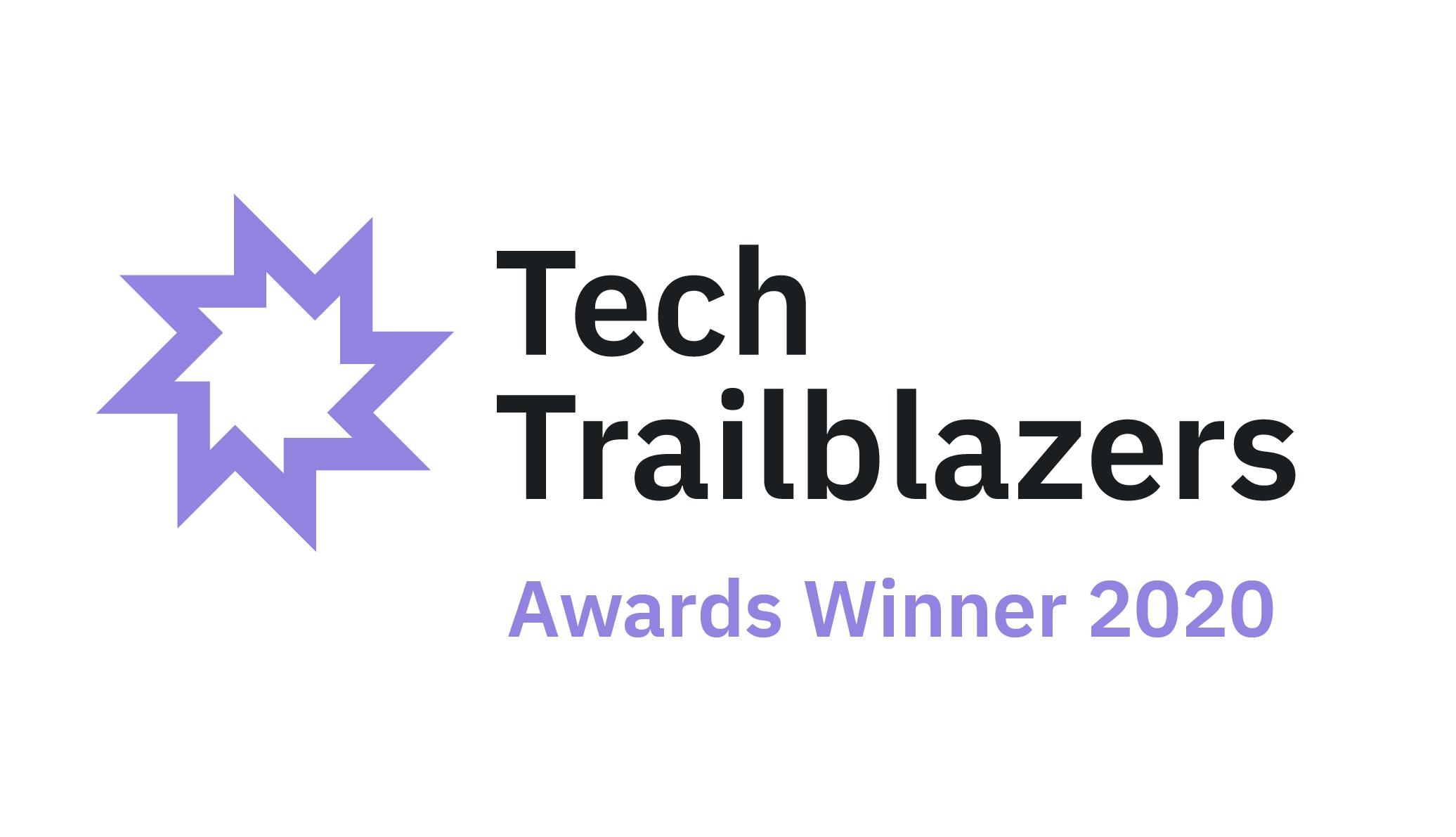 Tech Trailblazers Award Winner